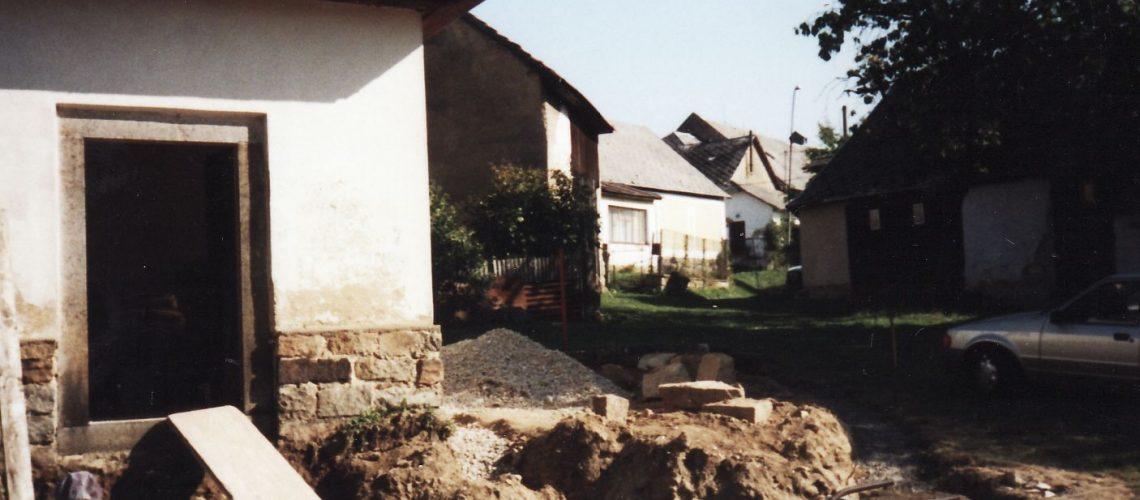 kaple oprava 2003
